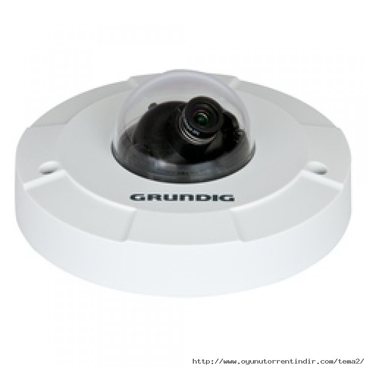 GCI-H2812W 2 Megapiksel Full HD Dahili Tip Flat Sabit Dome IP Kamera